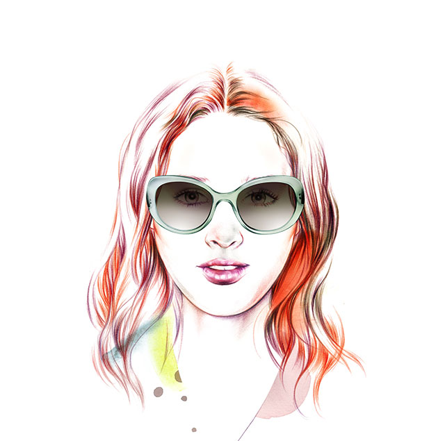Face Shape Ovalado - Female - Sunglass Hut Hong Kong